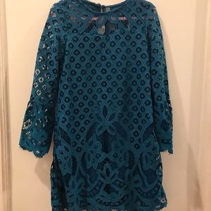 Rare Editions girls lace dress. Size 5. NWT
